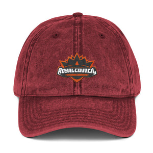 s-rc EMBROIDERED VINTAGE CAP