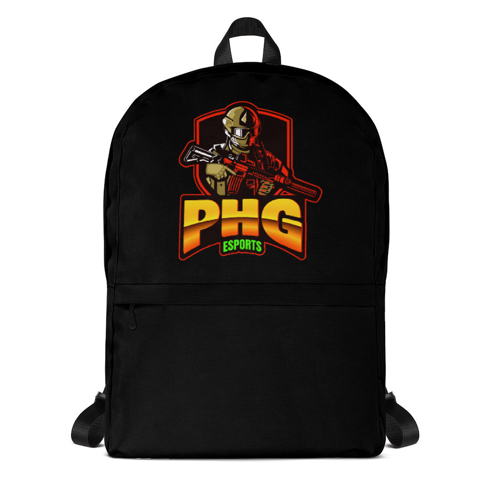 t-phg ZIP UP BACKPACK