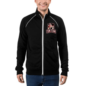 s-tqt PIPED FLEECE JACKET