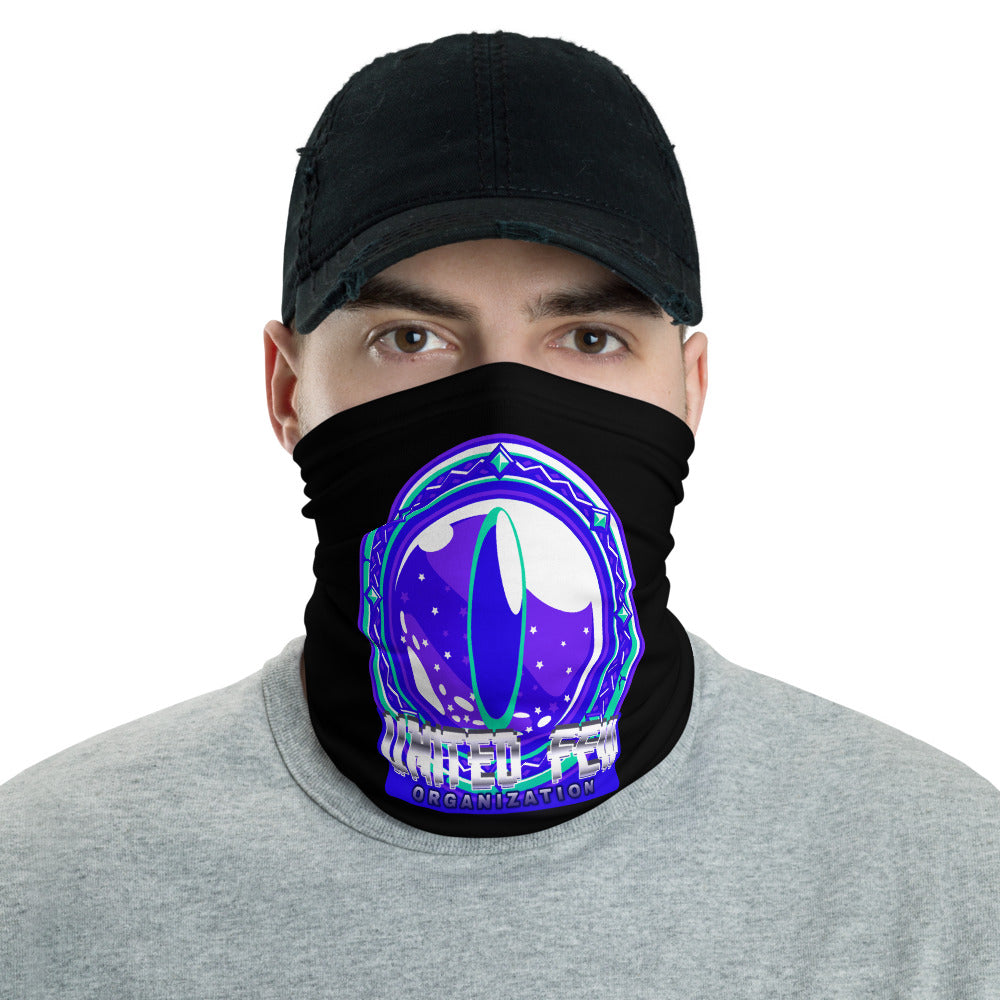 t-ufo FACE MASK/ NECK GAITER BLACK