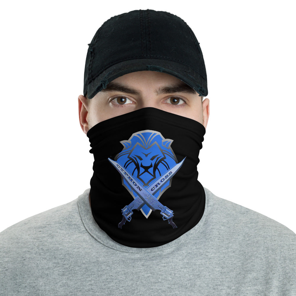 s-cc FACE MASK/ NECK GAITER BLACK