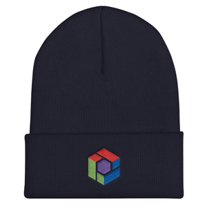 s-cx EMBROIDERED BEANIE