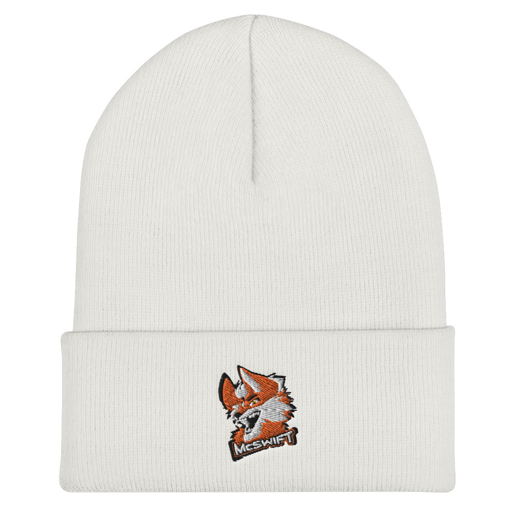 s-ms EMBROIDERED BEANIE