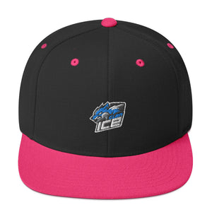 s-ice EMBROIDERED FLAT BRIM