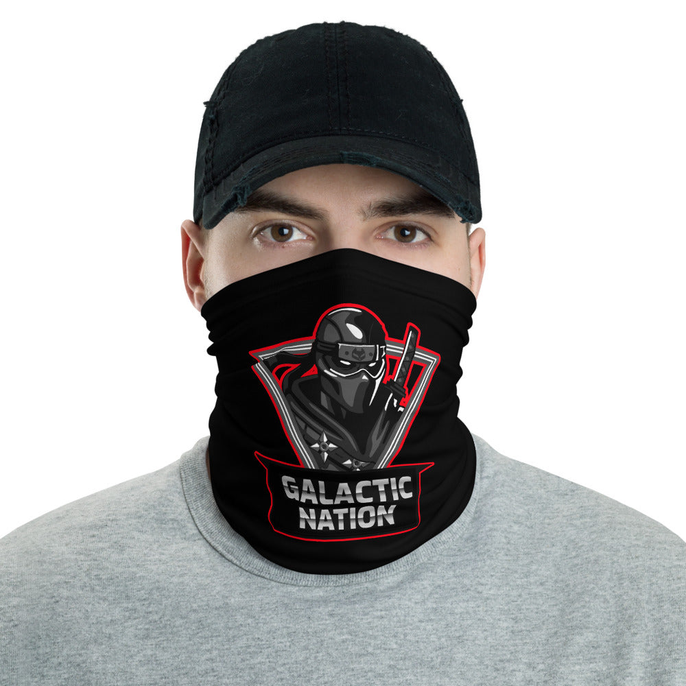 t-gn FACE MASK/ NECK GAITER BLACK