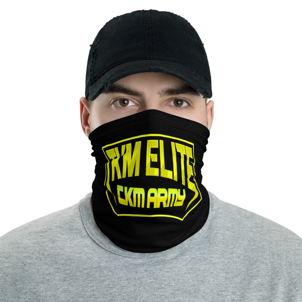 s-tkm FACE MASK/ NECK GAITER BLACK