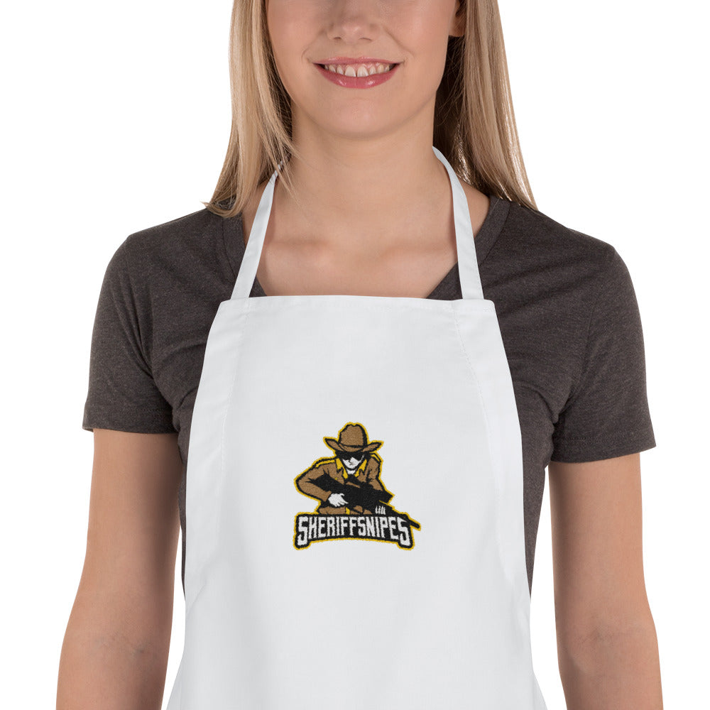 s-ss EMBROIDERED APRON