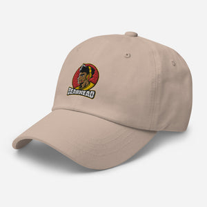 bean Embroidered Dad hat