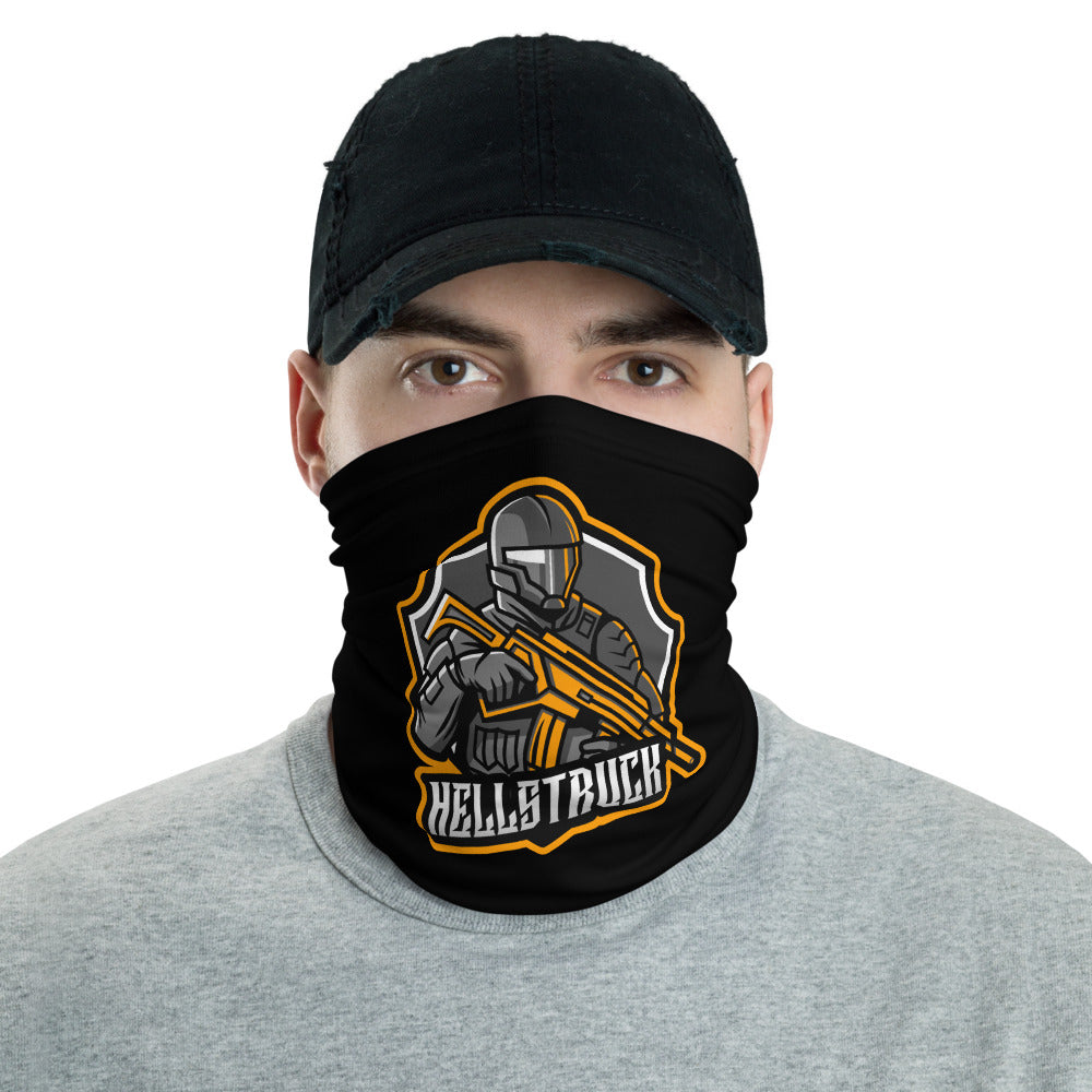 t-hs FACE MASK/ NECK GAITER BLACK