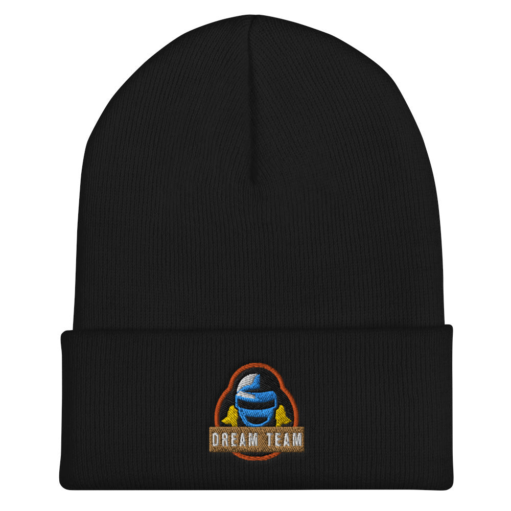 t-drt EMBROIDERED BEANIE