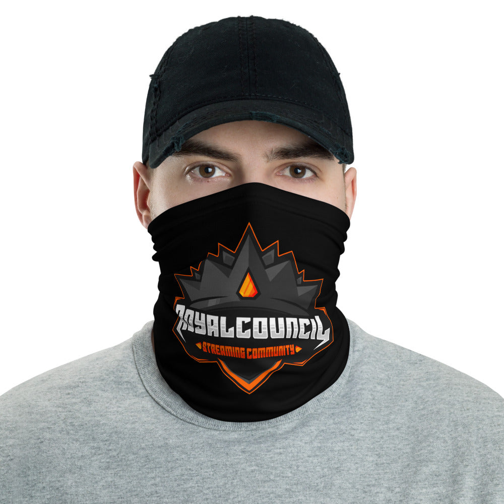 t-rc FACE MASK/ NECK GAITER BLACK