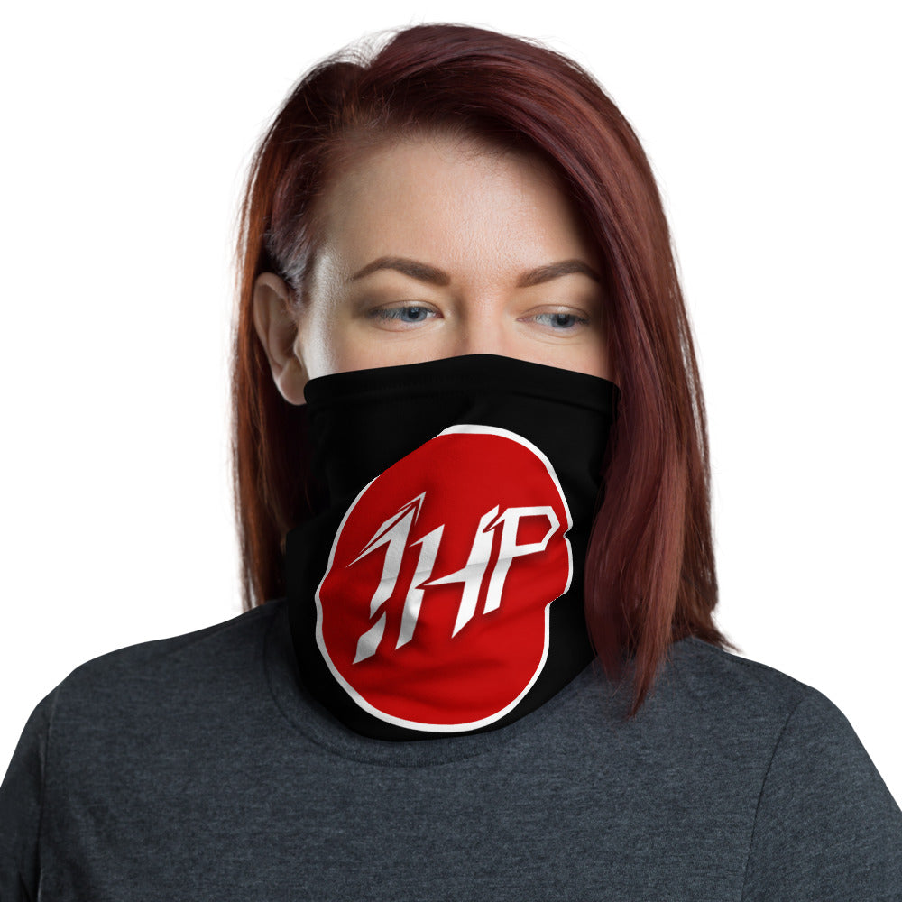 t-1hp FACE MASK/ NECK GAITER BLACK