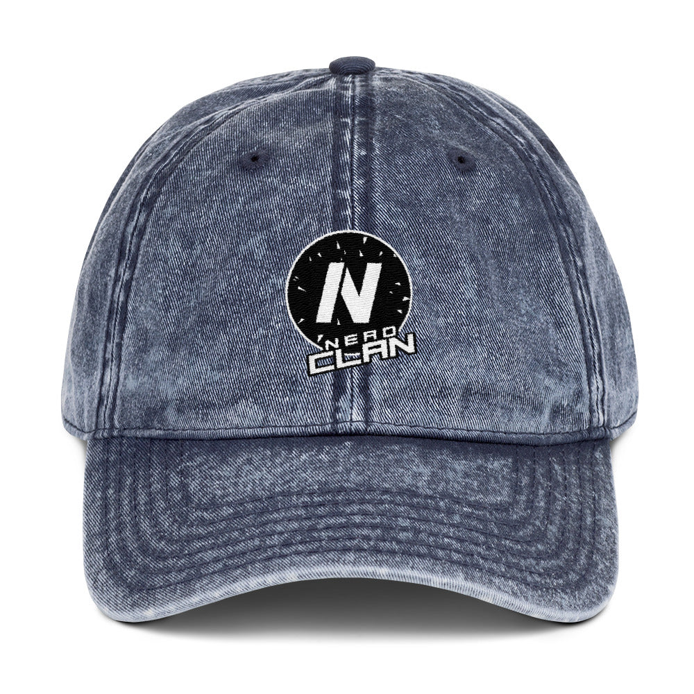 s-nc EMBROIDERED VINTAGE HAT