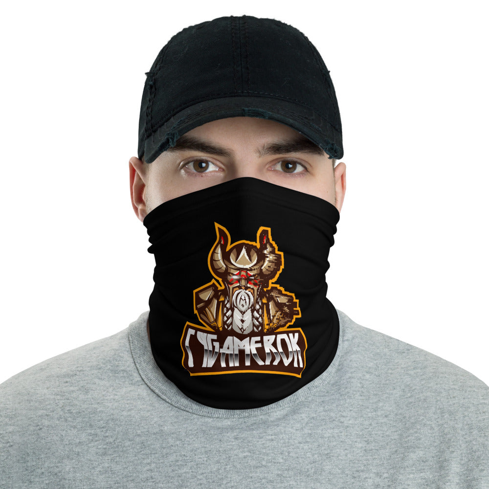 s-cy FACE MASK/ NECK GAITER BLACK
