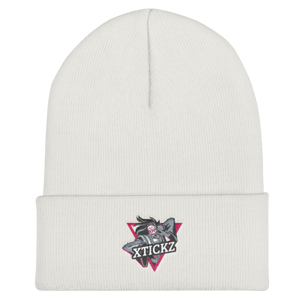s-xt EMBROIDERED BEANIE