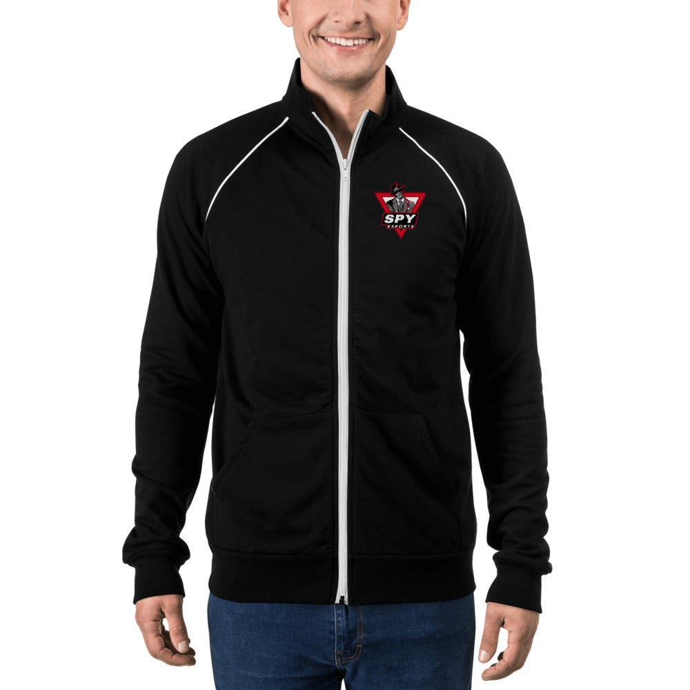 t-spy PIPED FLEECE JACKET