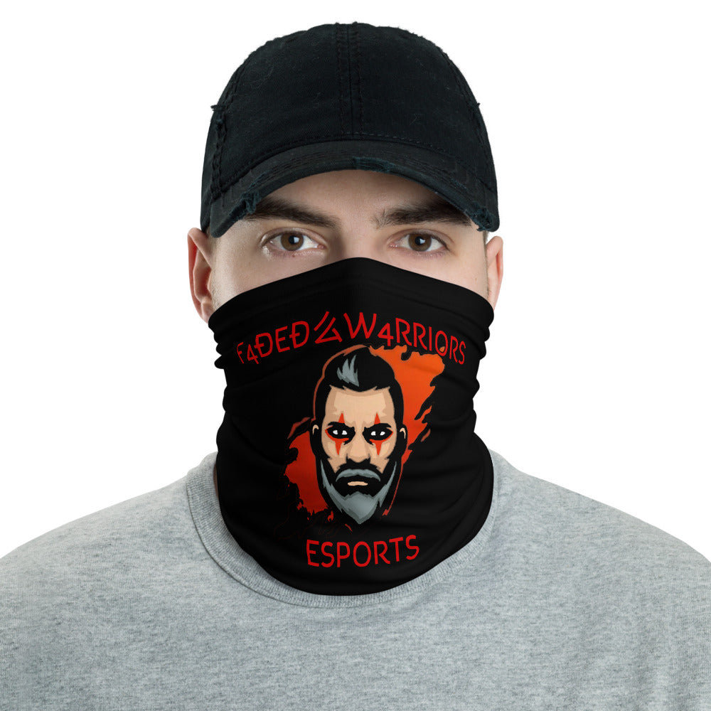t-fw FACE MASK/ NECK GAITER BLACK
