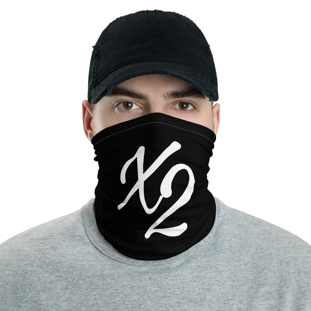 s-x2 FACE MASK/ NECK GAITER BLACK