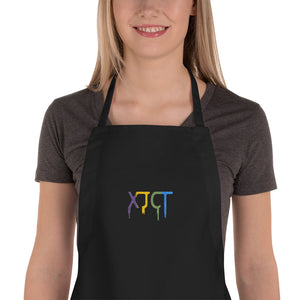s-xj EMBROIDERED APRON
