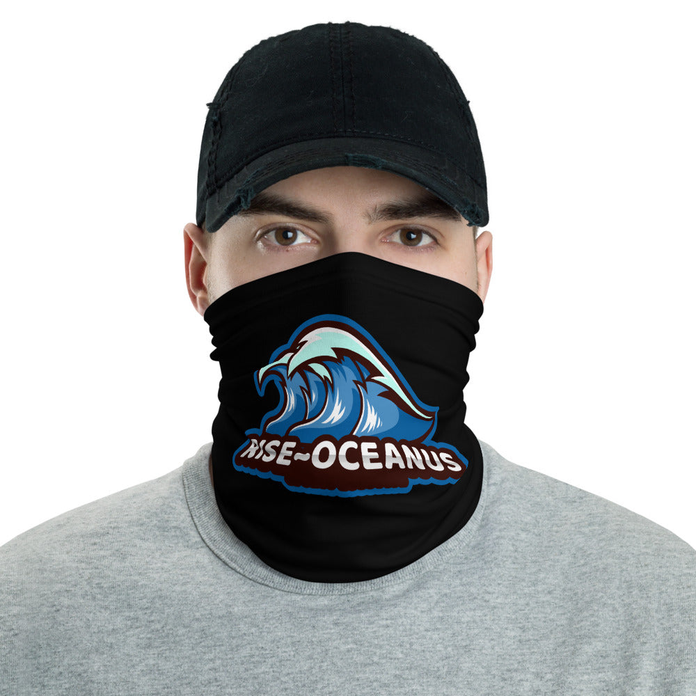 s-ro FACE MASK/ NECK GAITER BLACK
