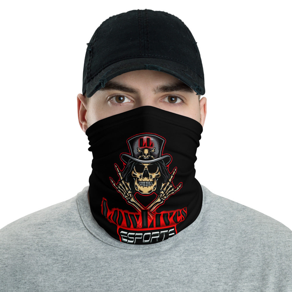 t-ll FACE MASK/ NECK GAITER BLACK