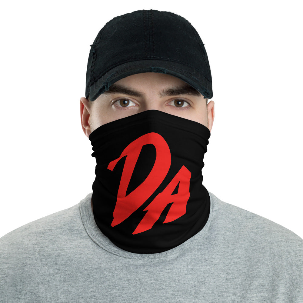 t-da FACE MASK/ NECK GAITER BLACK