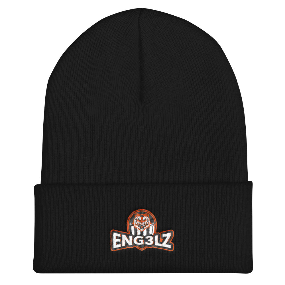 s-en EMBROIDERED BEANIE