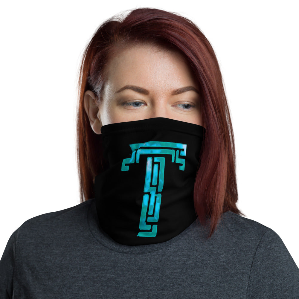 t-tar FACE MASK/ NECK GAITER BLACK