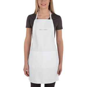 s-wo EMBROIDERED APRON!