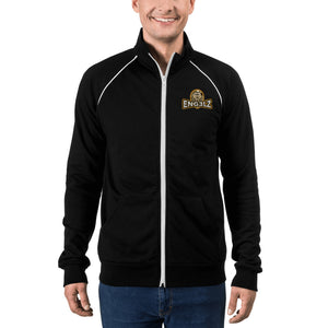 s-en PIPED FLEECE JACKET