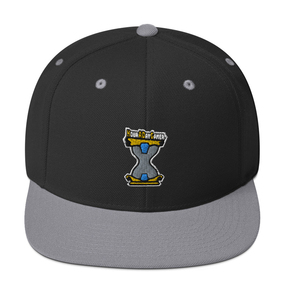 s-had EMBROIDERED FLAT BRIM HAT