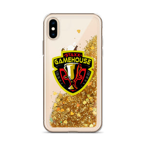 o-stx LIQUID GLITTER iPHONE CASE