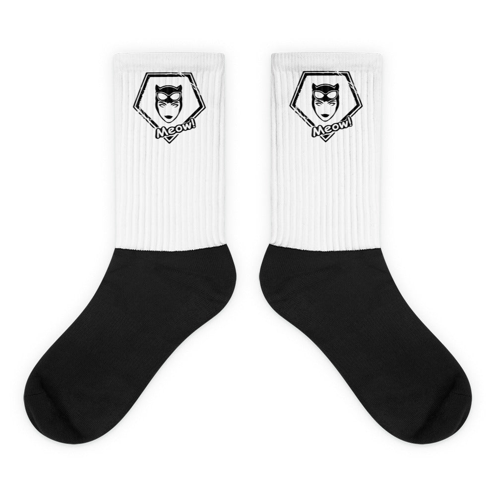 s-wcw PADDED BOTTOM CREW SOCKS