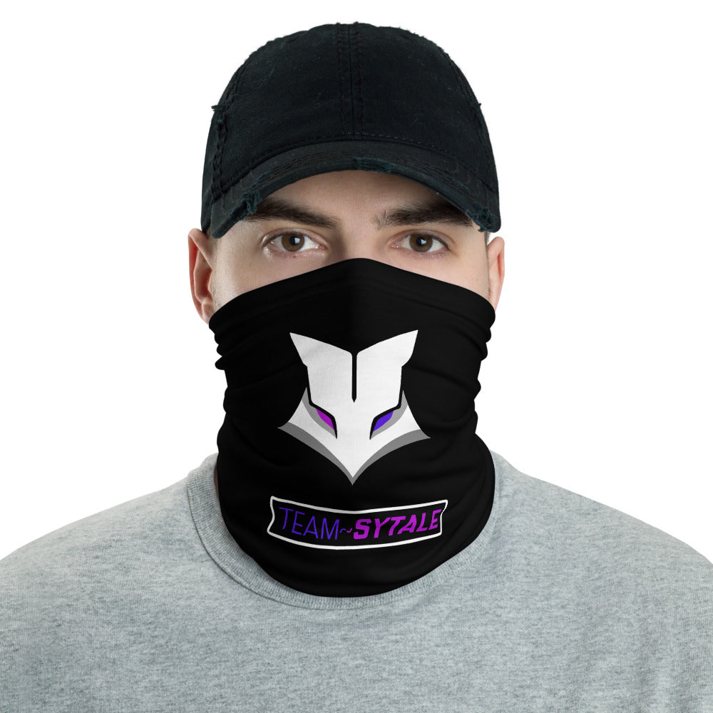 t-sy FACE MASK/ NECK GAITER BLACK