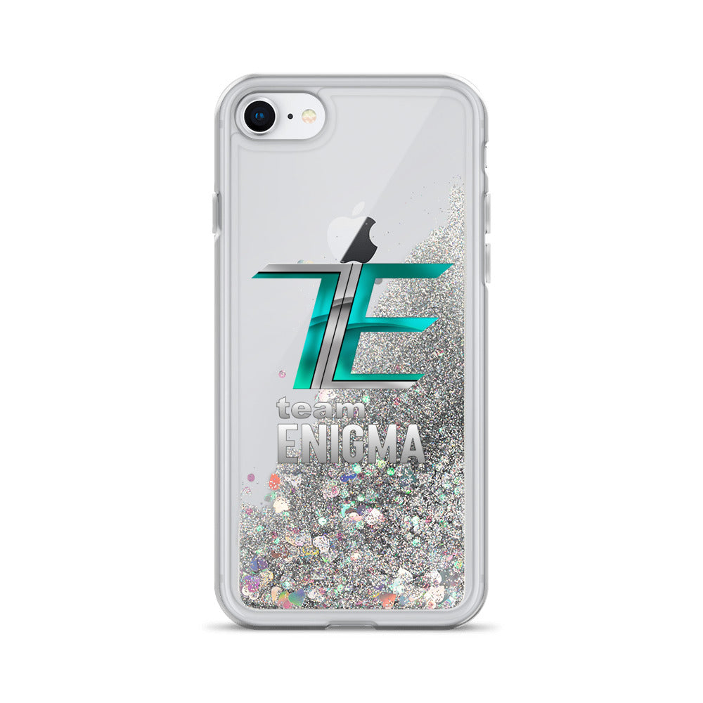 t-eng LIQUID GLITTER iPHONE CASE
