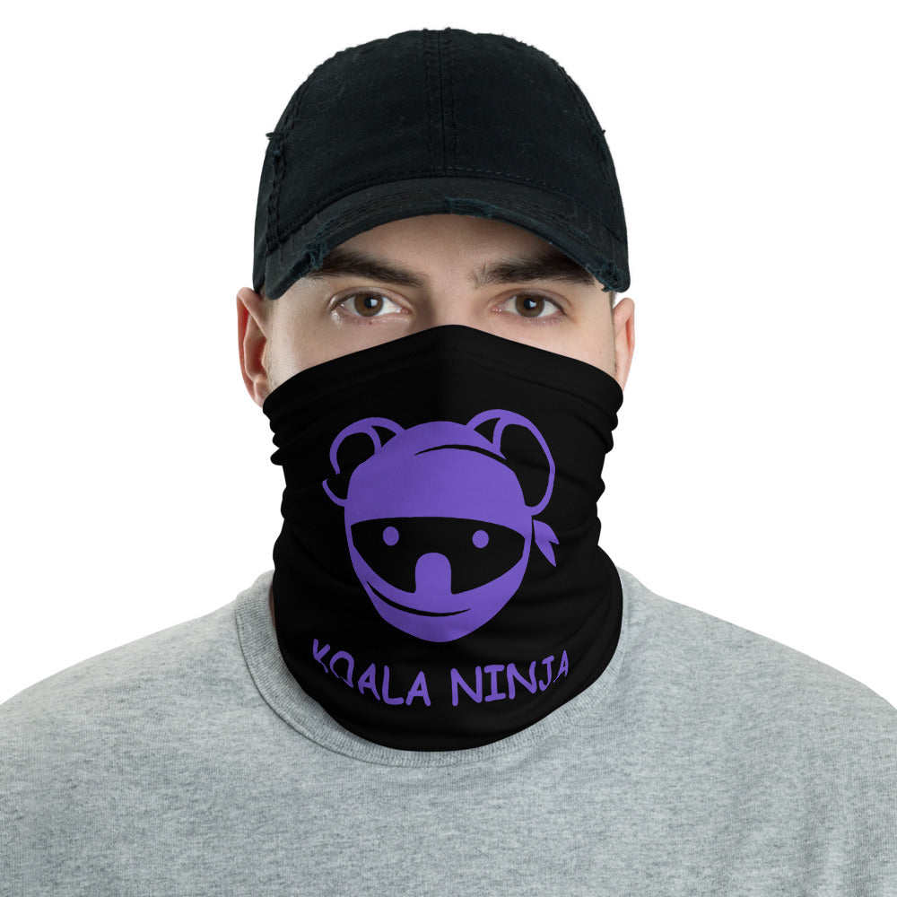 s-kn FACE MASK/ NECK GAITOR BLACK