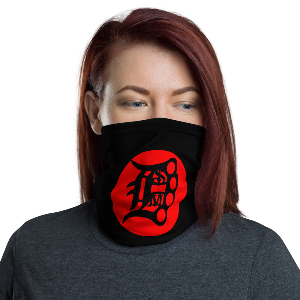 t-dsm2 FACE MASK/NECK GAITER BLACK