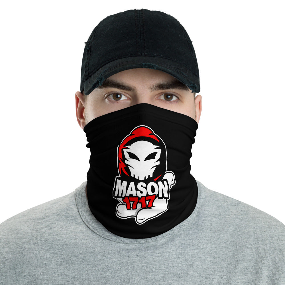 s-m1 FACE MASK/ NECK GAITER BLACK