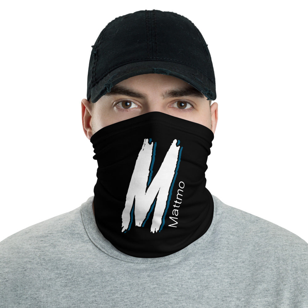 s-mm FACE MASK/ NECK GAITER BLACK