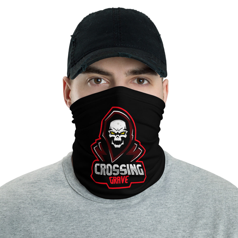 s-cg FACE MASK/ NECK GAITER BLACK