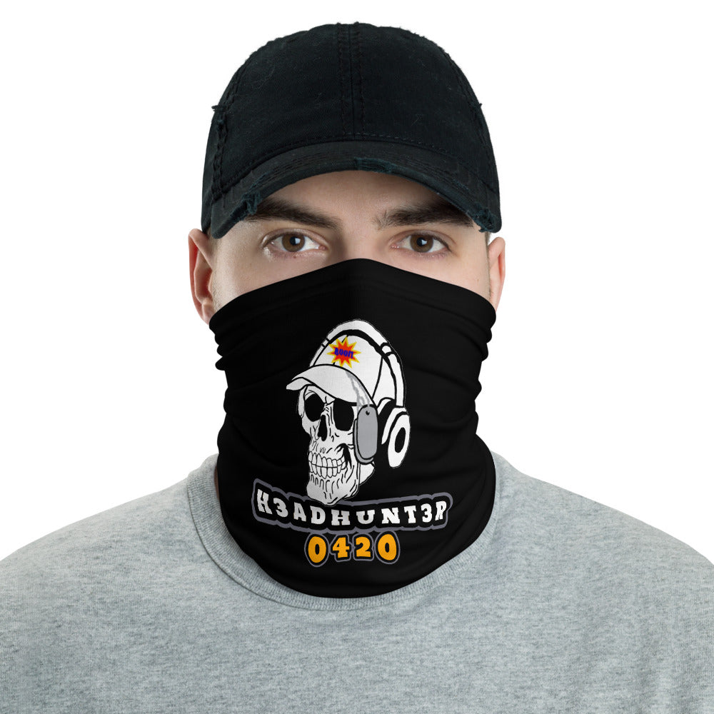 s-hh FACE MASK/ NECK GAITER BLACK