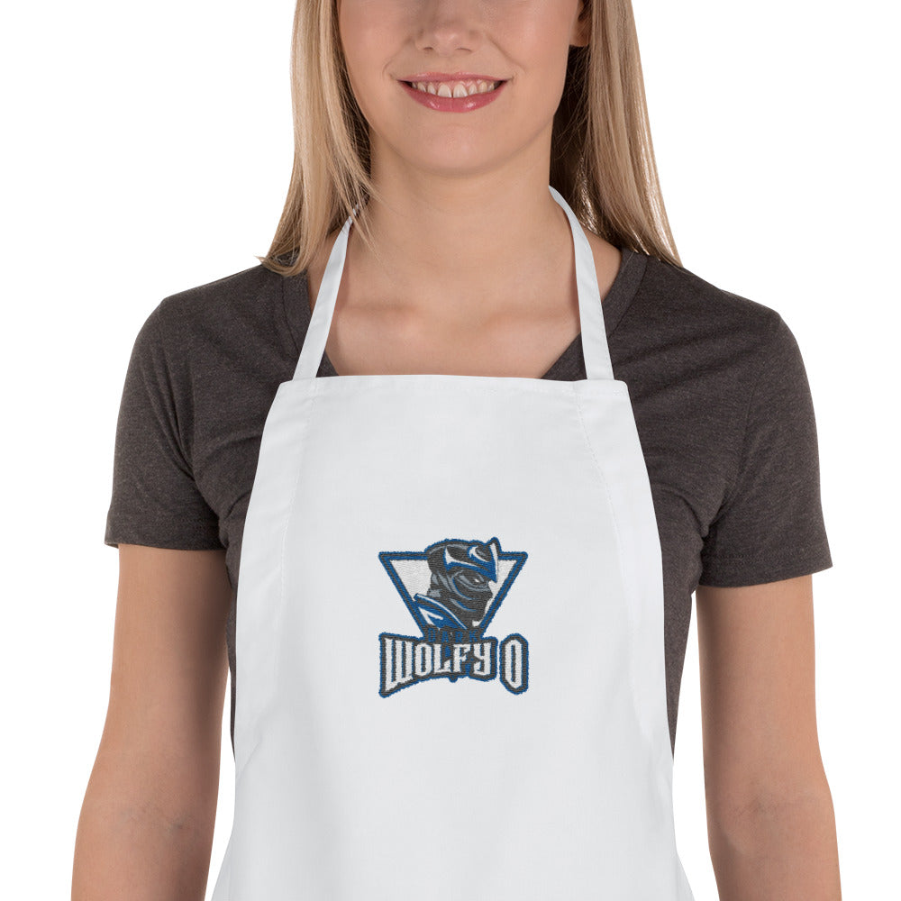 s-dw EMBROIDERED APRON