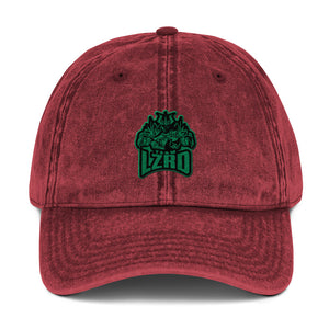 s-lz EMBROIDERED VINTAGE HAT