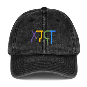 s-xj EMBROIDERED VINTAGE CAP