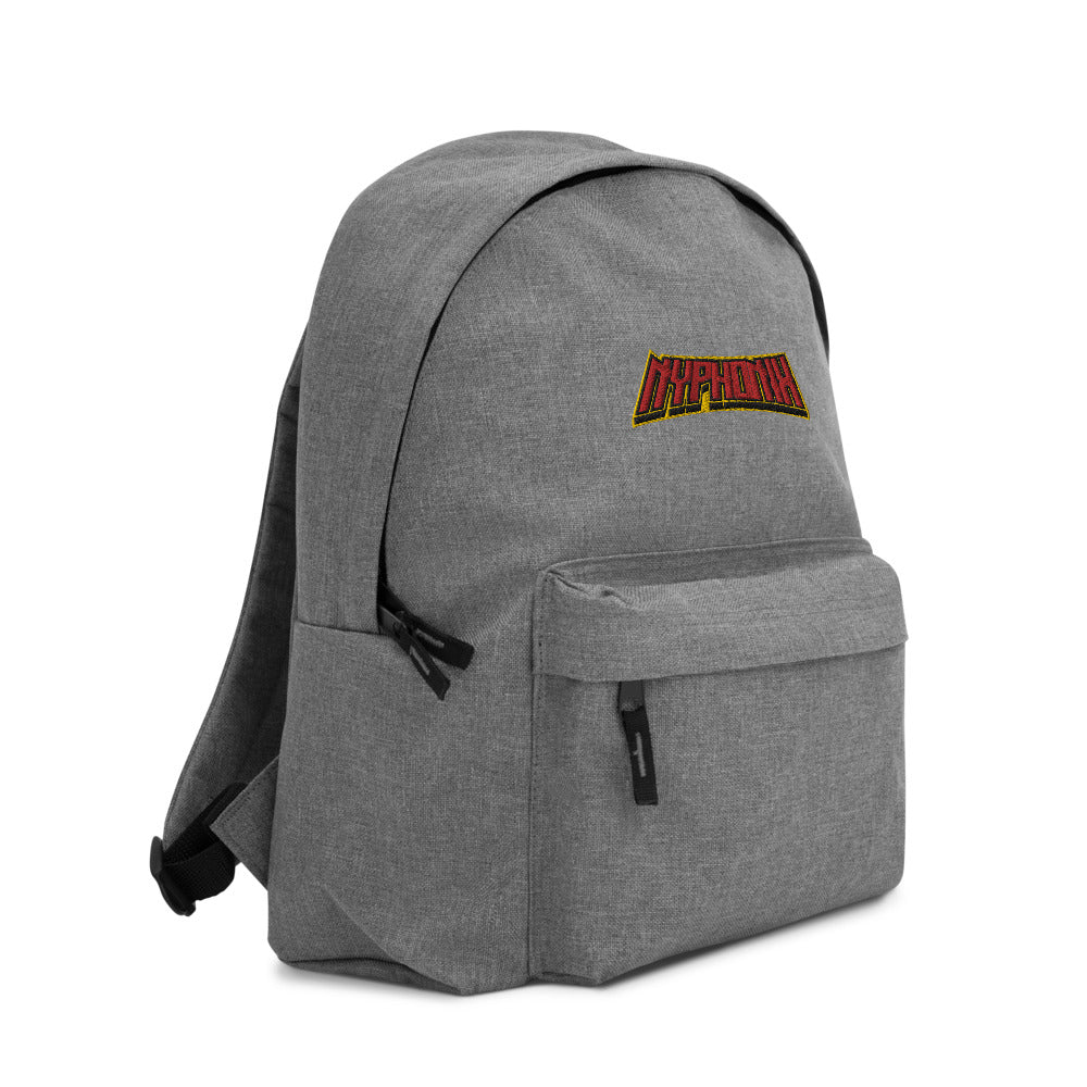 s-nyp EMBROIDERED BACKPACK