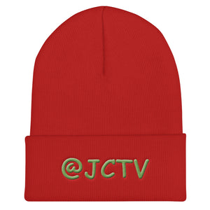 s-jc EMBROIDERED BEANIE!