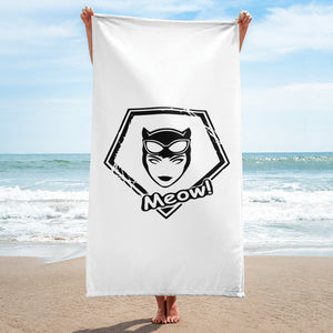 s-wcw BEACH TOWEL