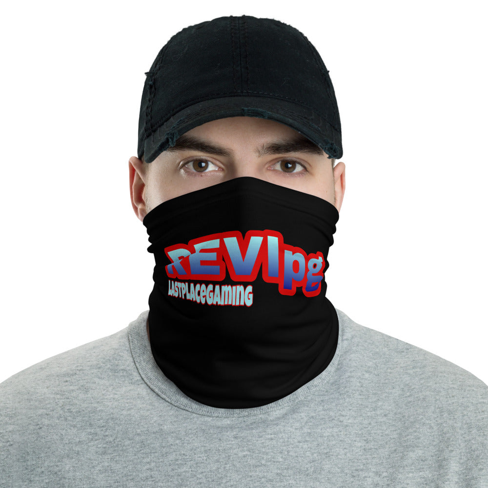 s-rev FACE MASK/ NECK GAITER BLACK