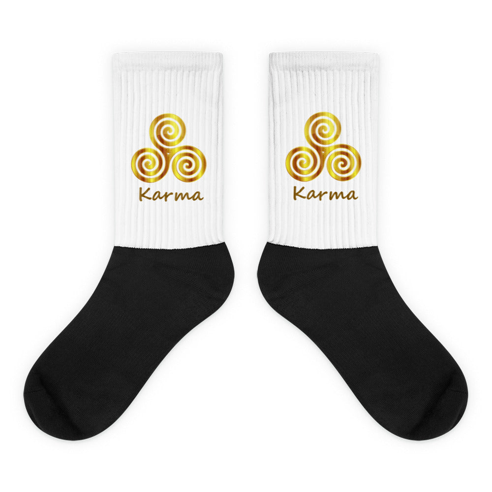 s-kk CUSHIONED BOTTOM SOCKS