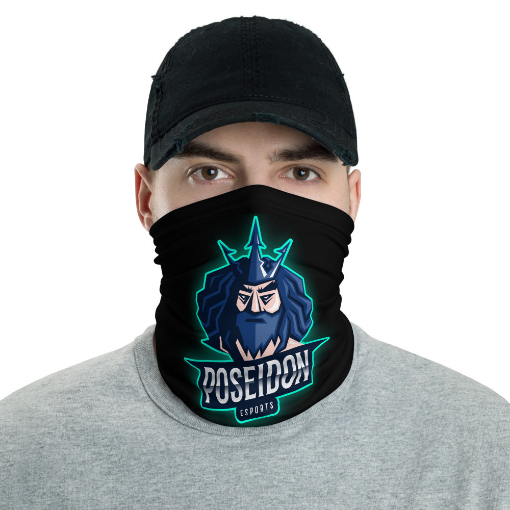 t-ps FACE MASK/ NECK GAITER BLACK
